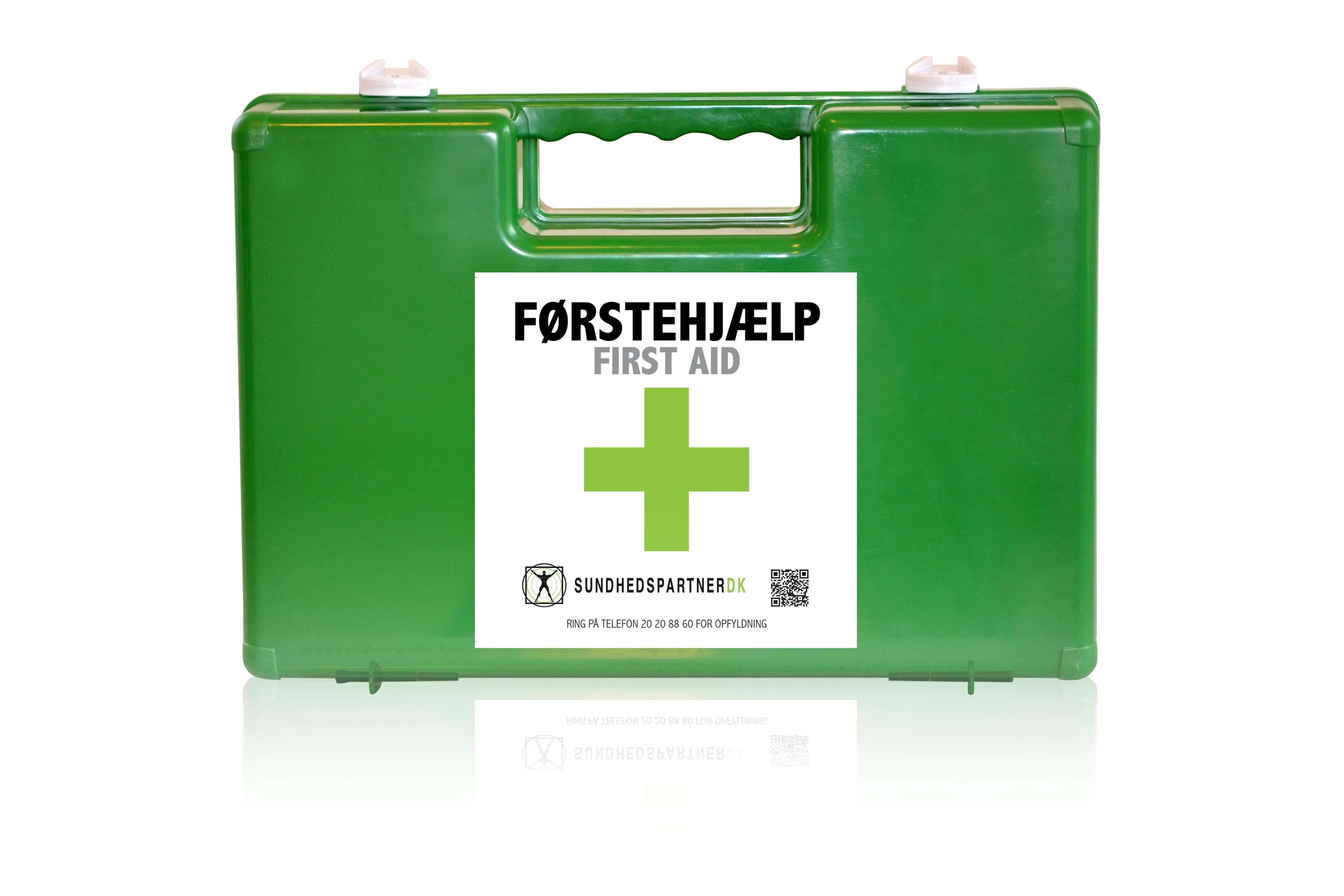 Hvor køber man en førstehjælpskasse?