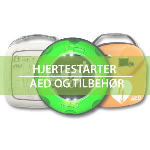 Hjertestarter | AED og tilbehør